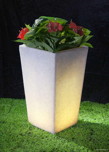 Square Flowerpot (Color-changing)