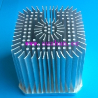 Cold Forged Square Heat Sink for Ceiling Light, Down Light, Street Lights