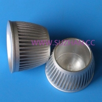 Cold Forged Heat Sink Fittings for Candle Light Bulb