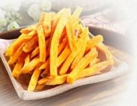 Original-flavor vacuum-fried yam chips