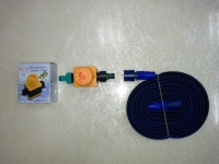 Timer with Elastic Garden-hose with Timer