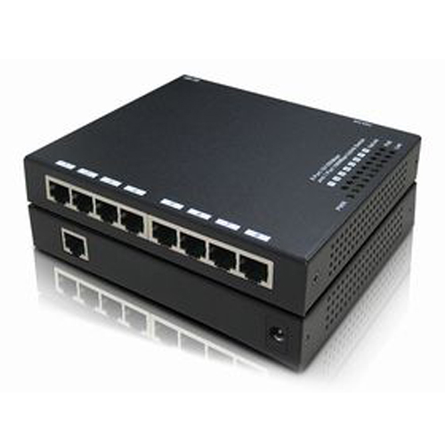 8 port 10/100M PSE and 1-port 10/100M uplink Switch