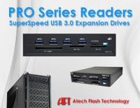 Atech Flash Technology Pro系列USB3.0嵌入式内接读卡机