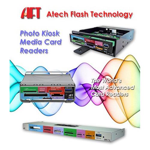 Atech Flash Technology專利可替換式讀卡機