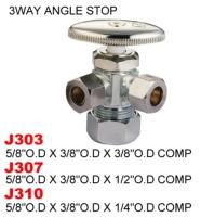 3way Angle Stop