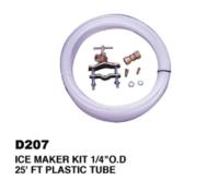"""Ice Maker Kit 1/4""""Od 25'Ft Plastic Tube"""