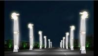 白馬景觀燈