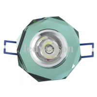 1W Ceiling-mounted light