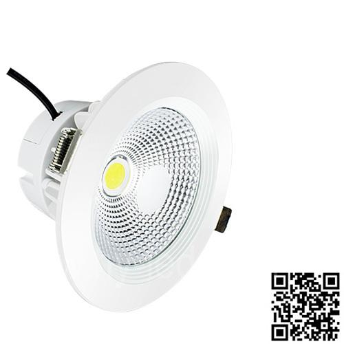 大功率COB光源LED筒灯