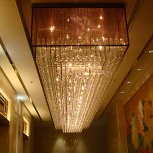 布藝水晶燈