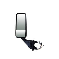 Heavy duty truck door mirror