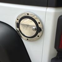 Wrangler fuel gas tank door