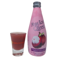 Mixed mangosteen juice