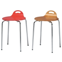K/D Small Dining Chair W/Hand Hole