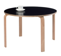 Round Plywood Coffee Table