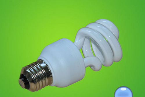 Semi Spiral Energy Saving Lamp