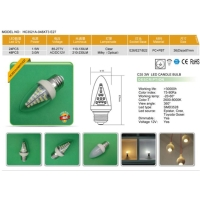 Cens.com LED Candle Bulb ZHEJIANG EASTPOWER LIGHTING TECHNOLOGY CO., LTD.