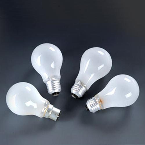 白熾燈(磨砂燈泡)