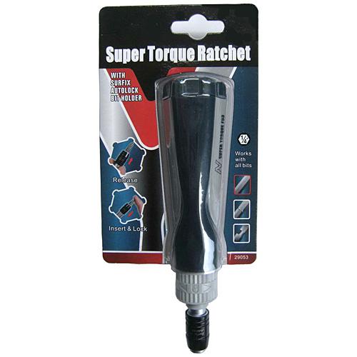 Super Torque Ratchet Screwdriver