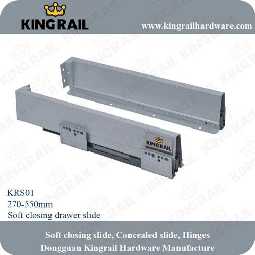 Soft Closing Drawer System