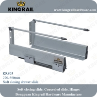 Cens.com Soft Closing Drawer System DONGGUAN KINGRAIL HARDWARE MANUFACTORY
