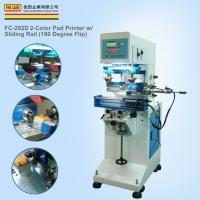 FC-292D 2-Color Pad Printer w/Sliding Rail (180 Degree Flip)