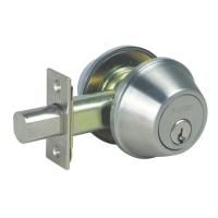 ANSI Grade 2 heavy duty deadbolt