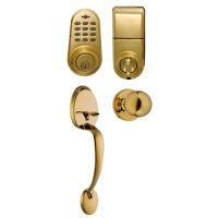 电子按键固定锁