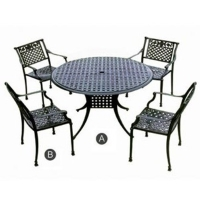 Cens.com Cast-iron Garden Furniture ZHEJIANG YUKAILONG OUT DOOR FURNITURE CO., LTD.