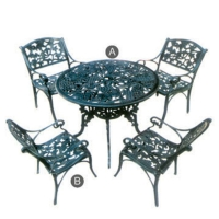 Cast-iron Garden Furniture