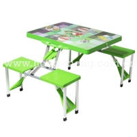 Cens.com Plastic Folding Picnic Table Sets 浙江鸿翔云彩休闲用品有限公司
