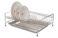 不锈钢碗盘收纳架
