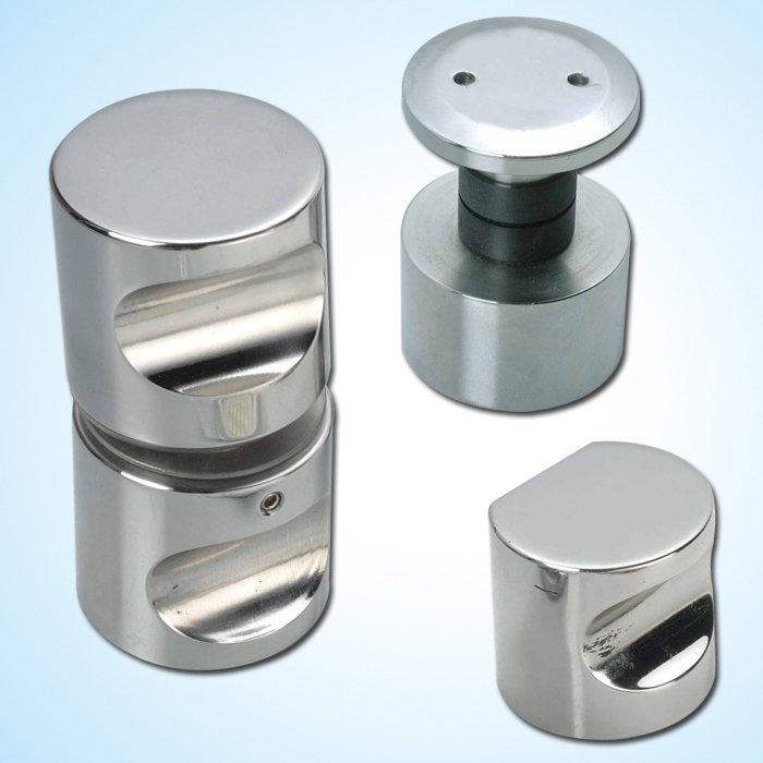 Stainless-steel bathroom fittings