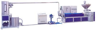 Under-water Extrusion Pelletizing Machine