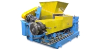 Side-Feed Plastic Recycling Machine