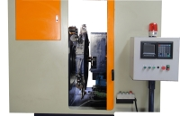 Compound trunnion-type processing machine