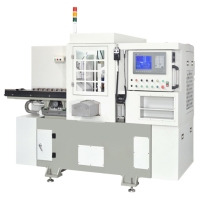 CNC雙頭銑床 (自動上下料)