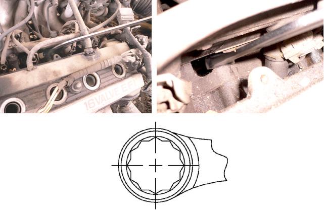 Damper Pulley Puller Holder Wrench Set / Engine, Compression Tools & Oil Service