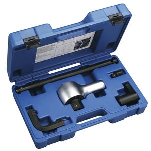 5pcs Torque Multiplier Set / Impact Socket & Torque Tools