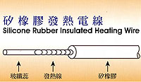 Silicone Rubber Insulated Heating Wire