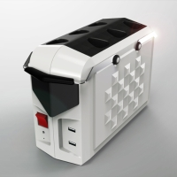 Portable Solar Powered Energy Storage System (with 6 pcs light)