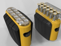 Portable Solar Powered Energy Storage System (with 12 pcs light)