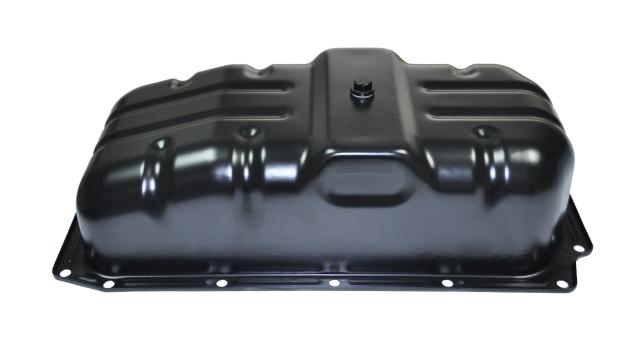 Oil pan for forklift