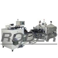 Automatic box-type capacitor assembling machine