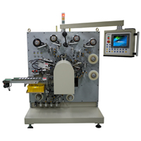Winder for capacitor with inner film winding