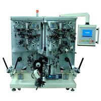 锂离子电池电极材料溶接复卷机