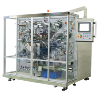 金属化膜电容器自动卷取机