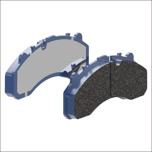BRAKE PAD-TOYOTA COASTER