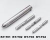 Tungsten-steel spindle