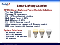 RF dimmable LED power module